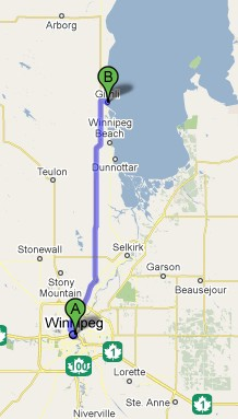 Directions to Gimli
